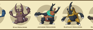 PokemonSubspecies: Heracross by CoolPikachu29