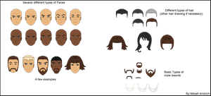 Pixel Faces - Free giveway by Milosh--Andrich