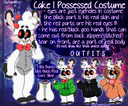 Cake | 2nd Fursona | Read Desc. by SpinachCan