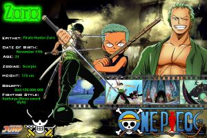 Zoro Profile by Revy11