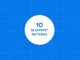 10 Free Seamless Blueprint Patterns by bestpsdfreebies