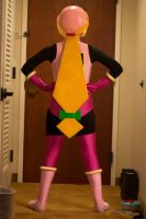 Roll Cosplay Back View by YuniX-2