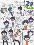 Gorillaz comic dump by BriefZ466