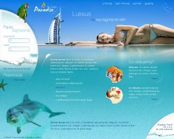 Paradise Travel by canvaske