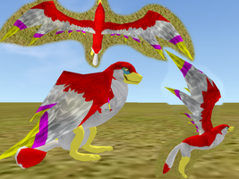 Crimson Loftwing on Feral Heart (IMPROVED) by RedEyesOfRa