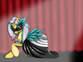 Curtain call request by Emerald-Glaceon