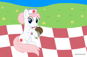 Nurse Redheart Drink by IronwoodAKACleanser