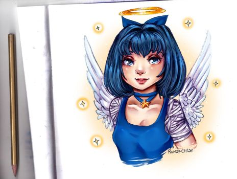 Rumiko the angel by Rumay-Chian