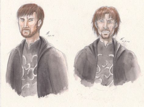 The Lestrange Brothers by SweeneyLestrange
