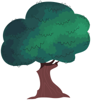 MLP Resource: Tree 03 by ZuTheSkunk