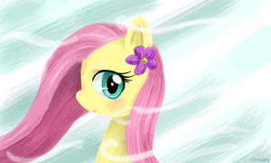 Fluttershy by Evomanaphy