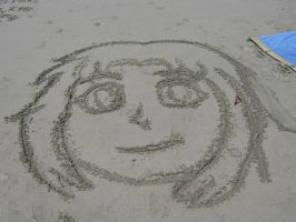 Sissy in the sand by Mau506SK