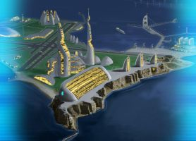 Shadowrun Helgoland Proteus HQ by raben-aas