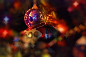 Christmas tree ornament by theCrow65