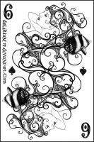 6 of spades by vasodelirium