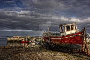 Blacksod Harbour by Flash-and-Flair