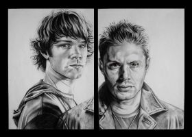 Dean and Sam by kittrose