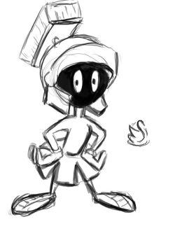 A sketch A Day: Marvin by Electagonist