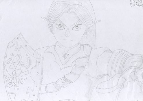 Link from Ocarina of Time by tlin1