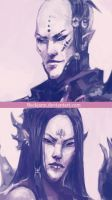 Dark Eldar: We are Pain 2 by Beckjann