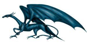 Blue Dragon by Phinist