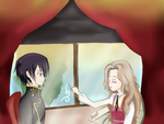 Lelouch and Nunnally by PoliMollyKari