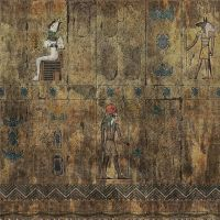 egyptian wall tile by dano555666
