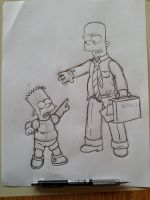 Bart and...Bart by simpspin