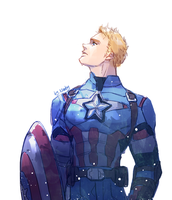 Captain America by nimby0o0