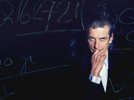 Peter Capaldi - Doctor Who Wallpaper by Lavasbuffo