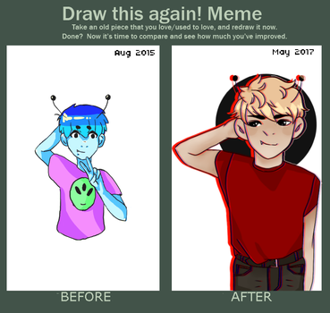 [MEME] Draw This Again by taaou