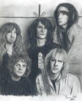 Aerosmith sketch by LatinPrincess17