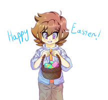 Easter schmeaster by SawksSomberCircus
