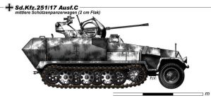 Sd.Kfz.251.17 Ausf.C by nicksikh