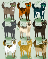 Cat-Kitten Adoptables- OPEN by AlbinoRose