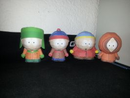 South Park Stan Kyle Eric and Kenny by Adisko
