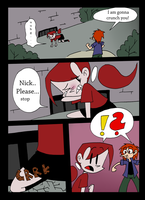 Mina and the count Comic - 9 Page by Freaky--Panda