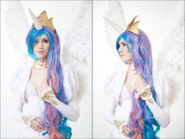 Princess Celestia 2 by neko-tin