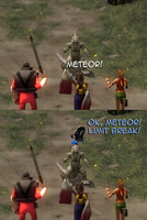 When a summoner uses meteor... by mattwo