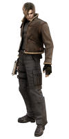Leon #2 RE4 - Professional Render by Allan-Valentine