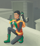 Damian and Alfred by Pronce