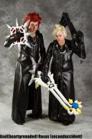 Axel and Roxas by secondaccident