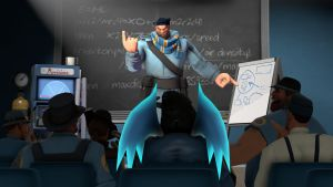 [SFM] RayDraca got a Job #1 (Teacher). by RayDraca