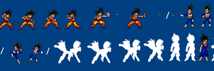 Vegeto Fusion Intro by SalTheSpriter
