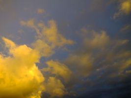 Spectacular evening sky - 19A by HermitCrabStock