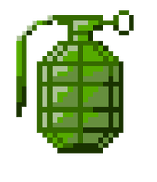 Pixel Grenade by DanH-Art