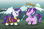 Commission:  TAKE THAT, RUFFIAN! by AleximusPrime