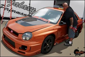 STI Impreza t00n by BGGaLaXy