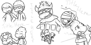WIP Chapter Covers by BuizelKnight