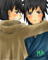 Kid Madara and Hashirama~ Weren't We Friends?! by MasterAki